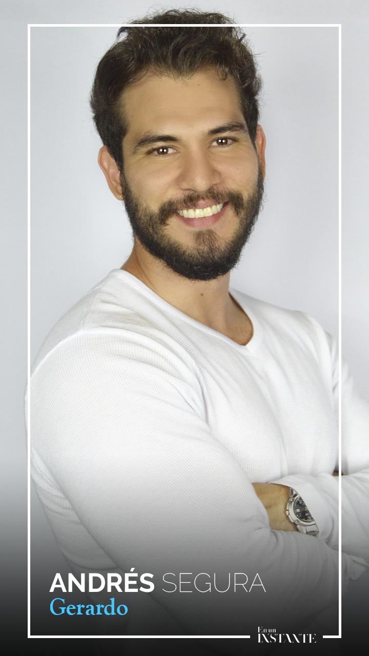 Andrés Segura interpreta a Gerardo, padre de Vivian